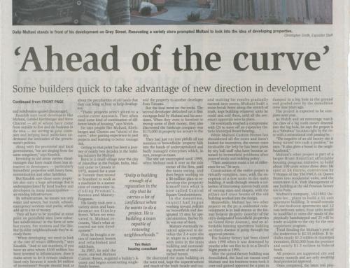 Editorial Brownfield Development Nov 16 , 2004