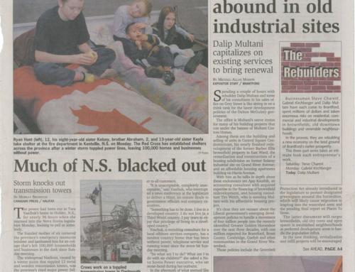 Editorial Brownfield Development Nov 16 , 2004 part 2